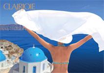 Affiche du soin bio au miel de Grèce Hyatos