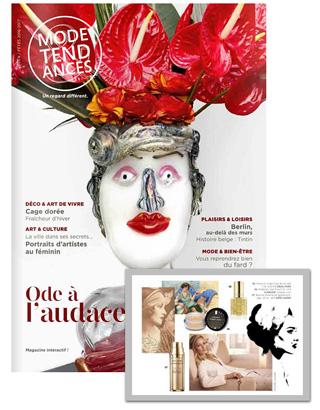Dans Mode et Tendance, les paillettes dorées Irisé Show® trouvent toute leur place dans l'histoire du maquillage.
